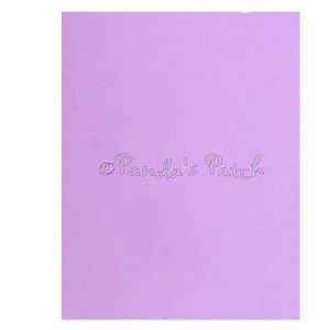 A4 EVA Foam Sheet - Light Purple